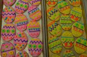 Decorated Cookie Eggs