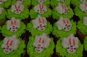 Frosting Bunny Cupcakes
